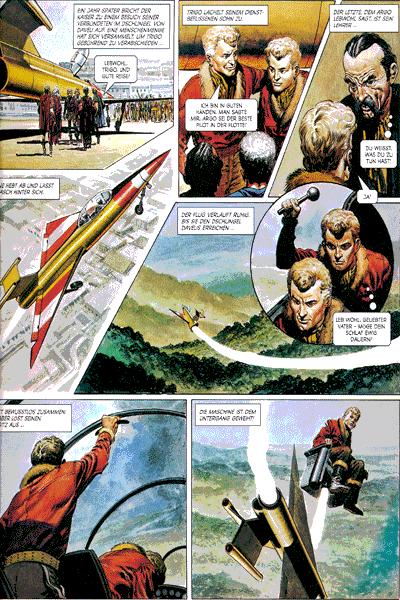 Leseprobe 1 von TRIGAN | Panini Comics, Band 6 - Die drei Prinzen
