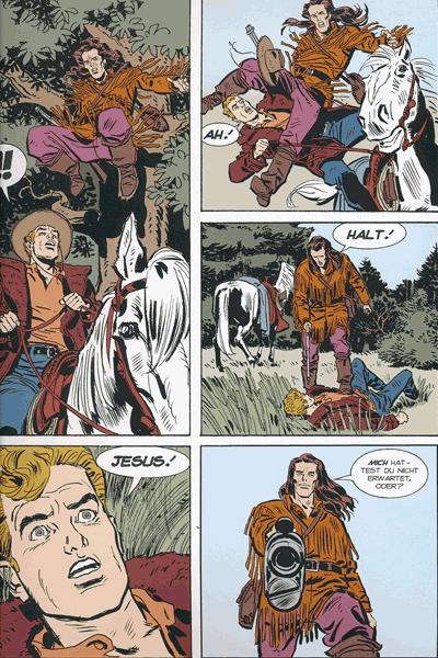 Leseprobe 1 von TEX | Panini Comics, Band 5 - Die letzte Grenze