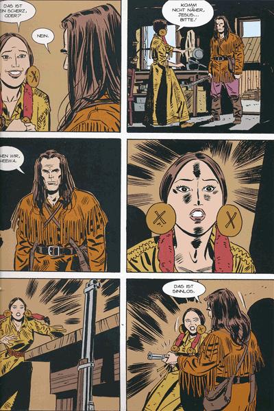 Leseprobe 2 von TEX | Panini Comics, Band 5 - Die letzte Grenze