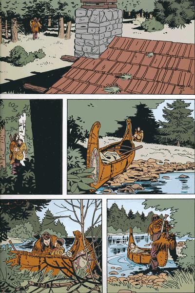 Leseprobe 3 von TEX | Panini Comics, Band 5 - Die letzte Grenze