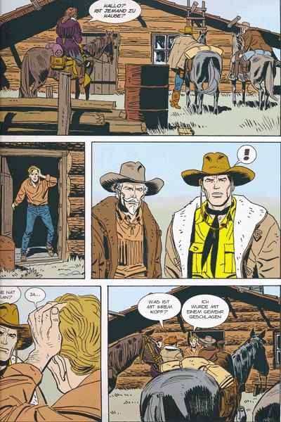 Leseprobe 4 von TEX | Panini Comics, Band 5 - Die letzte Grenze