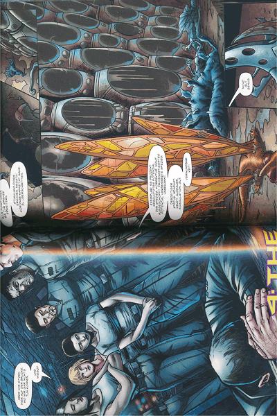 Leseprobe 1 von CALIBAN [comic], Einzelband - Odyssee ins Grauen