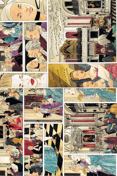 Leseprobe 1 von Venezianische Affären, Band 1 - Die Skizzen, Rotes Venedig, Exil