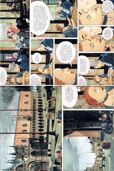 Leseprobe 2 von Venezianische Affären, Band 1 - Die Skizzen, Rotes Venedig, Exil
