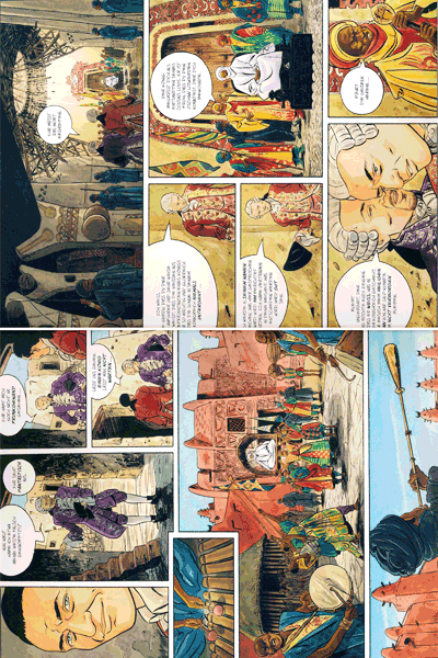 Leseprobe 1 von Venezianische Affären, Band 2 - Die Nacht der Gorèe, Der weiße Barde, Die Insel im Wind