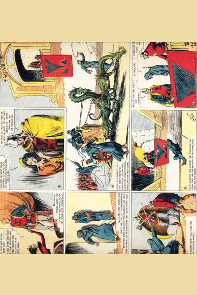 Leseprobe 1 von FLASH GORDON Comic, Band 1 - Auf dem Planeten Mongo