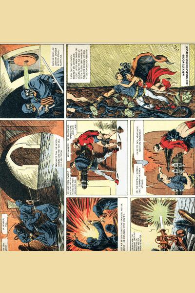 Leseprobe 2 von FLASH GORDON Comic, Band 1 - Auf dem Planeten Mongo