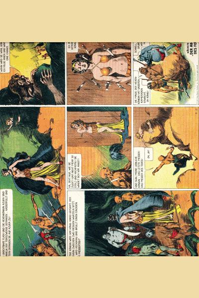 Leseprobe 3 von FLASH GORDON Comic, Band 1 - Auf dem Planeten Mongo