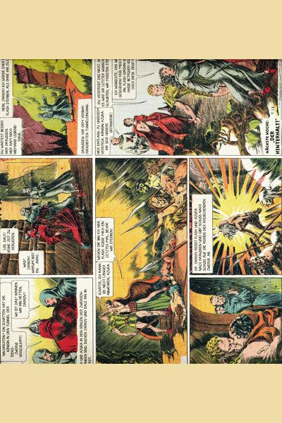 Leseprobe 4 von FLASH GORDON Comic, Band 1 - Auf dem Planeten Mongo