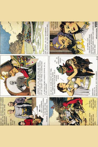 Leseprobe 3 von FLASH GORDON, Band 2 - Der Tyrann von Mongo