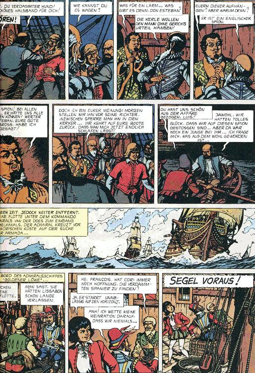 Leseprobe 1 von BARELLI Gesamtausgabe mit Schuber, Band 1-8 - Die Insel des Zauberers