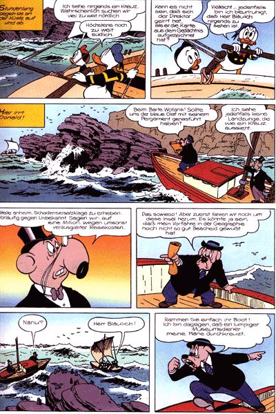 Leseprobe 2 von Die tollk�hnen Abenteuer der Ducks auf hoher See, Einzelband - Schluck! Gurgel! Blubb!