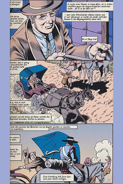 Leseprobe von Zorro: Gnadenlose Jagd, Band 2 -