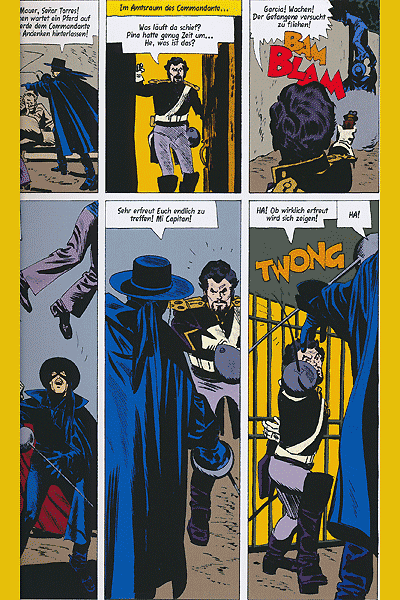 Leseprobe von Zorro: Die Abenteuer des schwarzen Reiters, Band 1 -