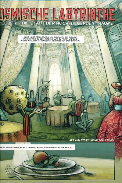 Leseprobe 1 von COZMIC, Band 2 - Die phantastische Comic-Anthologie