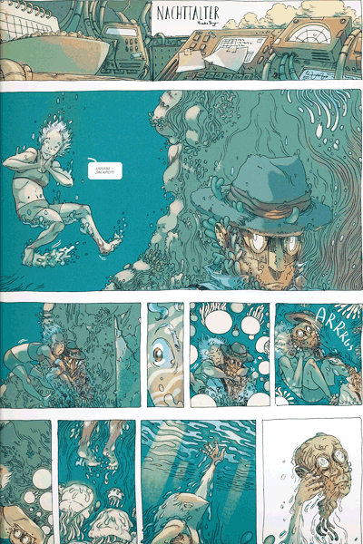 Leseprobe 2 von COZMIC, Band 2 - Die phantastische Comic-Anthologie