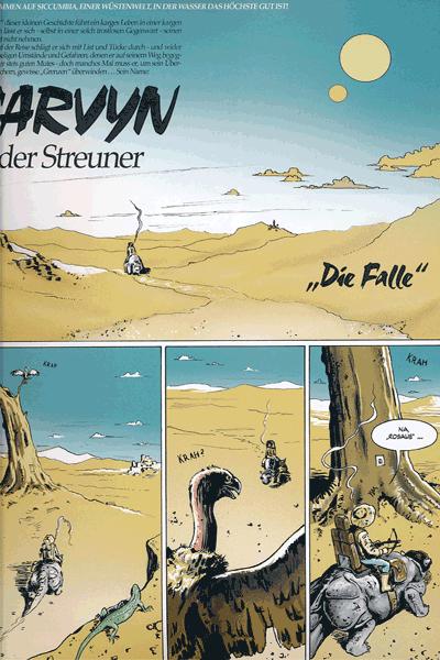 Leseprobe 4 von COZMIC, Band 2 - Die phantastische Comic-Anthologie