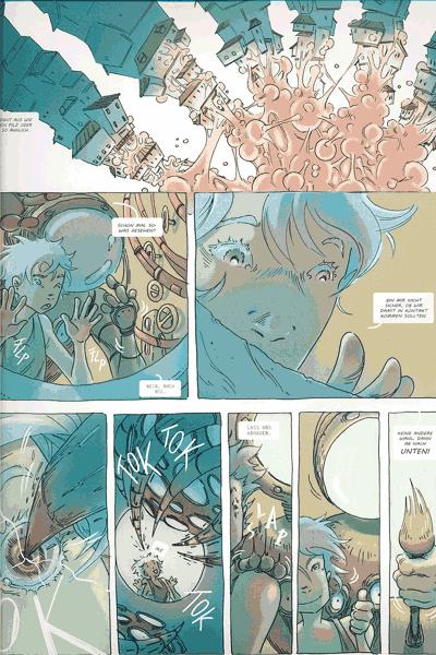 Leseprobe 1 von COZMIC, Band 3 - Die phantastische Comic-Anthologie