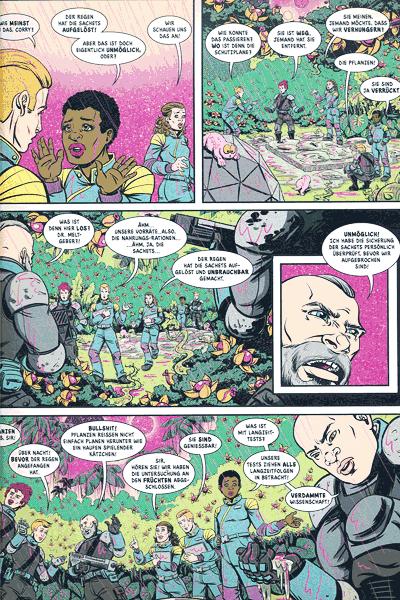 Leseprobe 2 von COZMIC, Band 3 - Die phantastische Comic-Anthologie