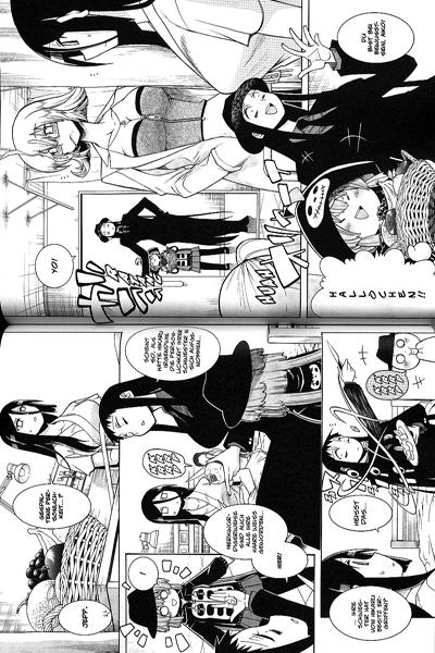 Leseprobe 2 von MURCIELAGO Manga, Band 12 - Schwertheilige