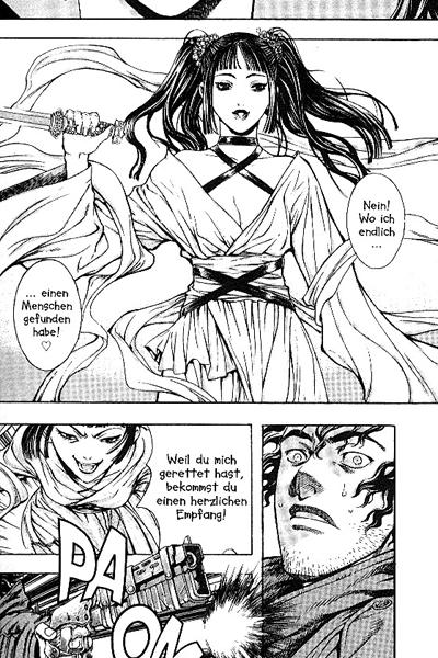 Leseprobe von Shin Angyo Onshi - Der letzte Krieger, Band 2 - Angriff der Yijin, . . .