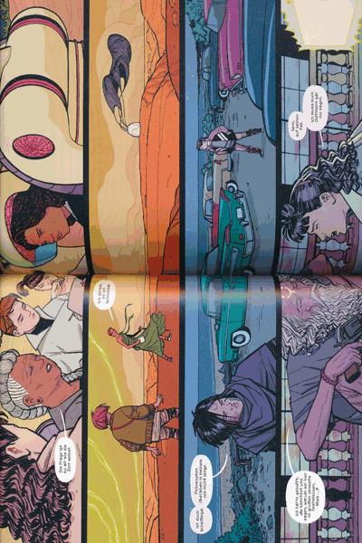 Leseprobe 3 von PAPER GIRLS, Band 6 -