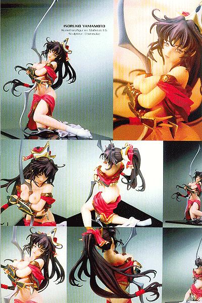 Leseprobe 2 von Tsunami Graphix, Einzelband 2 - 3D - Figuren der Manga-Girls-Welt