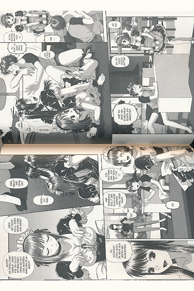 Leseprobe von My doll house, Band 1 - Mahiro und Arisu, Liebe auf dem Capus, . . .