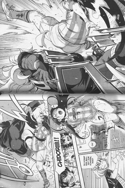 Leseprobe 2 von Mai Ball | Fussball ist sexy! [manga], Band 11 -