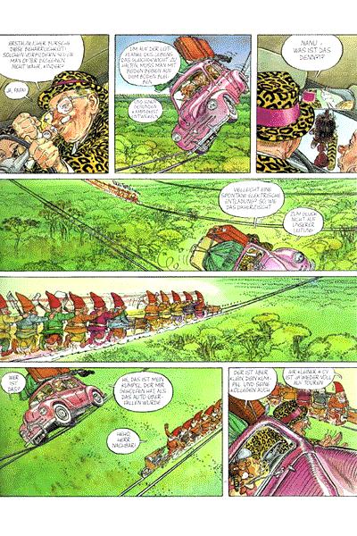 Leseprobe 2 von Die Abenteuer des Herrn Nachbarn, Band 2 - Das Pepitaproblem