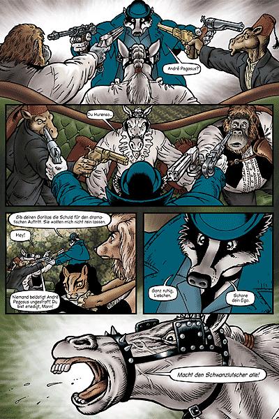 Zweite Leseprobe von Grandville, Band 1 - Ein Fall für Inspektor Lebrock von Scotland Yard