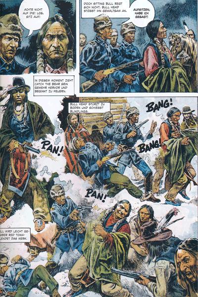 Leseprobe 1 von Serpieri Collection WESTERN, Band 4 - Tecumseh
