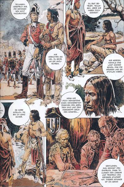 Leseprobe 2 von Serpieri Collection WESTERN, Band 4 - Tecumseh