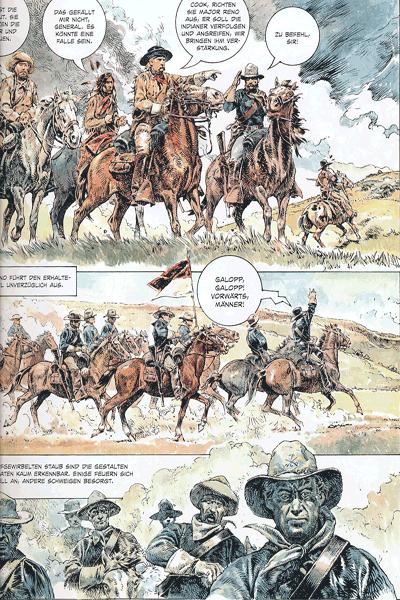 Leseprobe 3 von Serpieri Collection WESTERN, Band 4 - Tecumseh