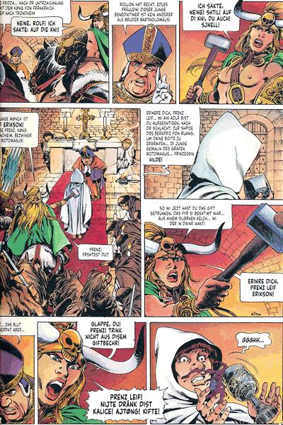Leseprobe 2 von Chronik der Barbaren, Band 2 - Die Rückkehr der Wikinger