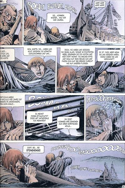 Leseprobe 3 von Chronik der Barbaren, Band 2 - Die Rückkehr der Wikinger