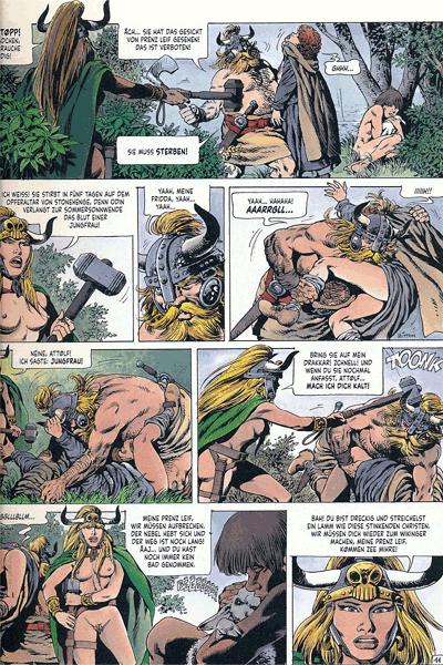 Leseprobe 4 von Chronik der Barbaren, Band 2 - Die Rückkehr der Wikinger