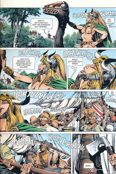 Leseprobe 5 von Chronik der Barbaren, Band 2 - Die Rückkehr der Wikinger