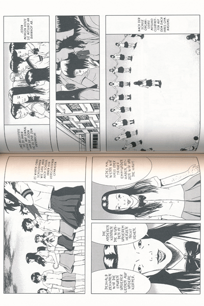 Leseprobe 2 von Der Selbstmordclub, Einzelband -