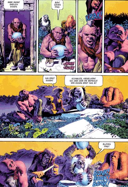 Leseprobe 1 von Mutantenwelt & Sohn der Mutantenwelt Gesamtausgabe, Einzelband -