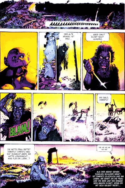 Leseprobe 3 von Mutantenwelt & Sohn der Mutantenwelt Gesamtausgabe, Einzelband -