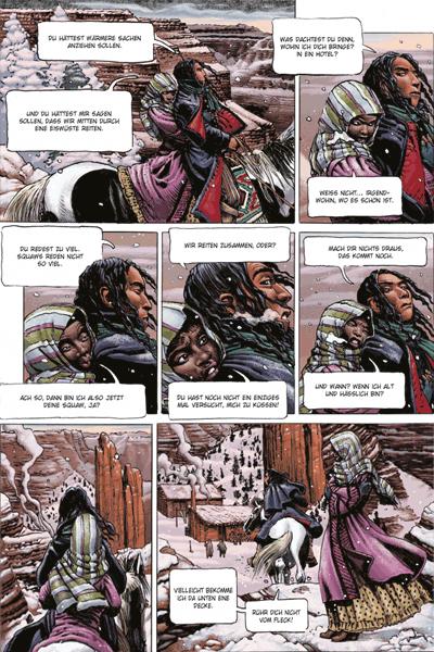 Leseprobe 3 von Marshal Bass [comiczeichnungen] [abenteuerlich], Band 3 - Sein Name ist niemand [Sheriff Marshal Bass]