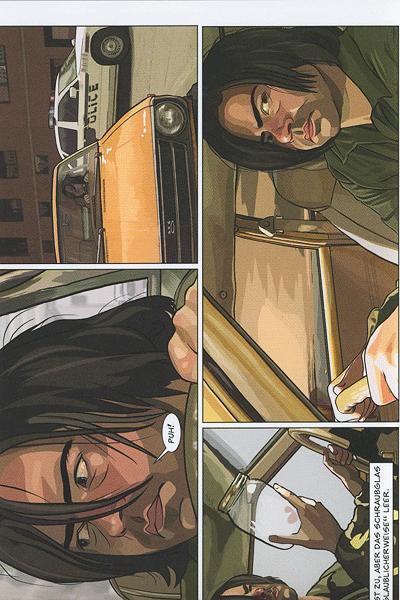Leseprobe 1 von A Scanner Darkly - Alles wird nicht gut, Einzelband -