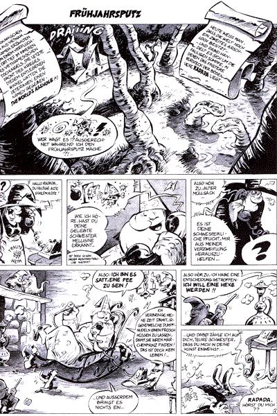 Leseprobe von Radada, Einzelband - Die b�se Hexe