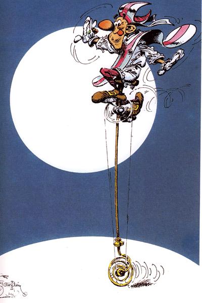 Leseprobe 2 von Die Kunst des ANDRE FRANQUIN, Einzelband - Comics, Cartoons, Zeichnungen, Skizzen