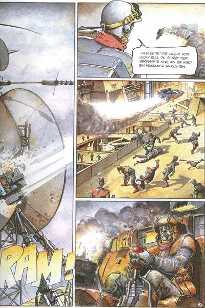 Leseprobe von VERFOLGER, Einzelband - Apokalyptische Zukunftsvisionen