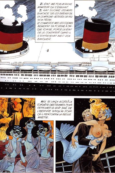 Leseprobe 1 von Couleur Directe | Direktkolorierung, Einzelband - Meisterwerke des neuen französischen Comics