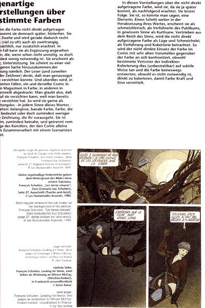 Leseprobe 2 von Couleur Directe | Direktkolorierung, Einzelband - Meisterwerke des neuen franz�sischen Comics