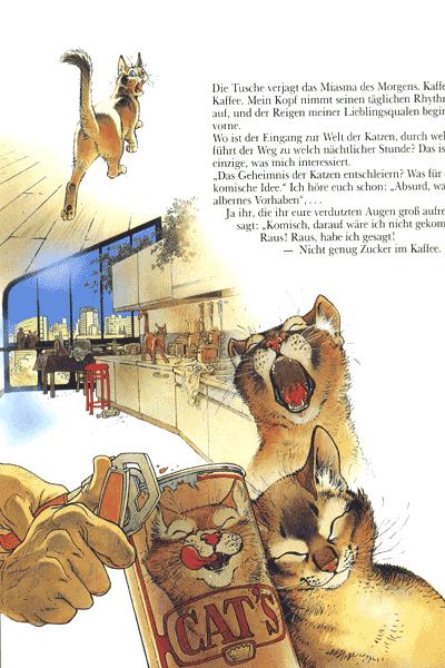 Leseprobe von Unter Katzen, Einzelband - Unheimliche Traumgestalten