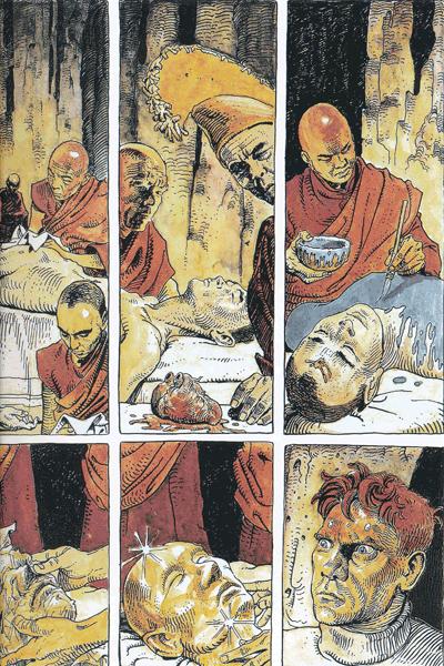 Zweite Leseprobe von MANARA WERKAUSGABE, Band 16 - Mann aus Papier u.a